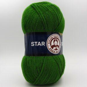 Пряжа Madame Tricote Star 087 зеленый