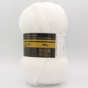 Пряжа Madame Tricote Star 100 белый