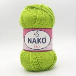 Пряжа Nako Ibiza 11014 салатовый