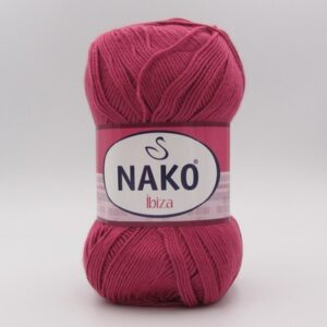 Пряжа Nako Ibiza 6578 фуксия