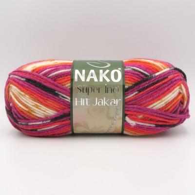 Пряжа Nako Super Inci Hit Jakar 81189
