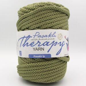 Шнур для вязания Therapy Yarn Pasakli зеленый оливковый