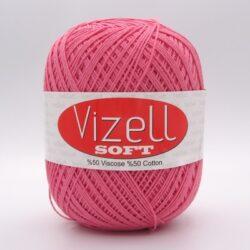Пряжа Vizell Soft коралл 526