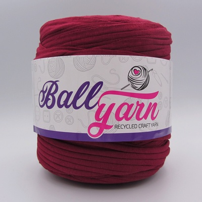 Трикотажная пряжа Ball Yarn бордо
