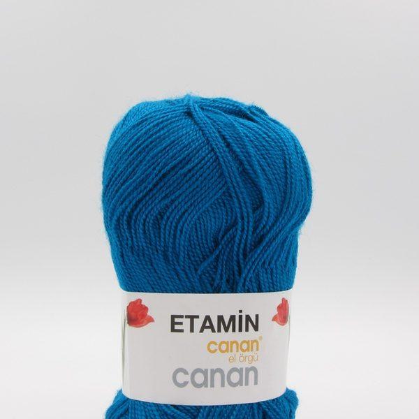 Пряжа Etamin Canan петроль E-156