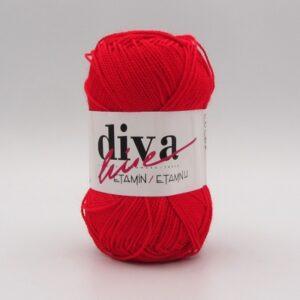 Пряжа Etamin Diva красный 015