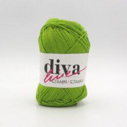Пряжа Etamin Diva светло-зеленый 035