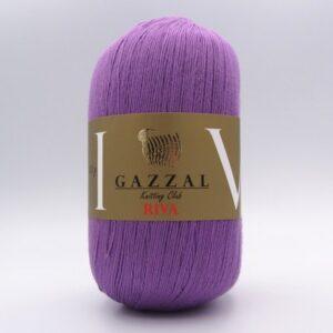 Пряжа Gazzal Riva 172 сиреневый