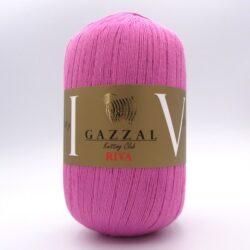 Пряжа Gazzal Riva 174 розовый