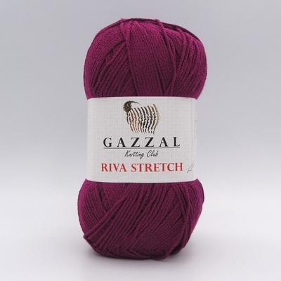Пряжа Gazzal Riva Stretch 2102 фуксия