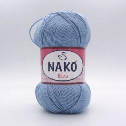 Пряжа Nako Ibiza 4129 голубой