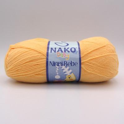 Пряжа Nako Ninni Bebe 10836 желтый