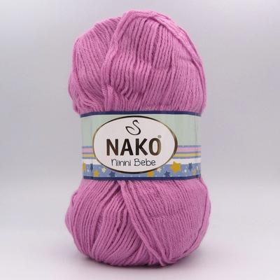 Пряжа Nako Ninni Bebe 1249 фрезовый