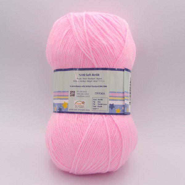 Пряжа Nako Ninni Bebe 23069 нежно-розовый