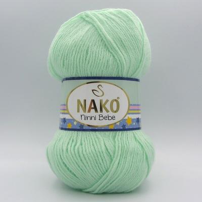 Пряжа Nako Ninni Bebe 2587 мята