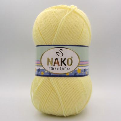 Пряжа Nako Ninni Bebe 3664 светло-желтый