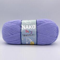 Пряжа Nako Ninni Bebe 4480 сиреневый