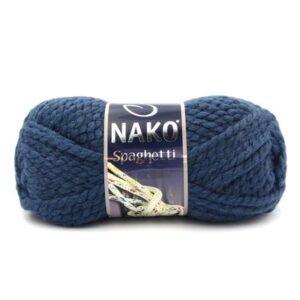 Пряжа Nako Spaghetti 2796 темно-синий