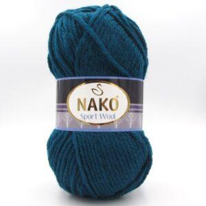 Пряжа Nako Sport Wool 2273 петроль