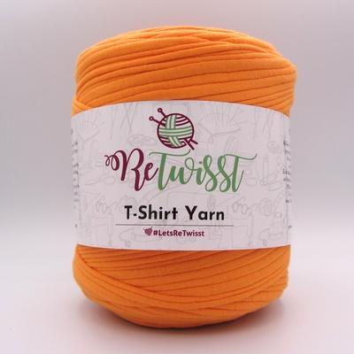 Трикотажная пряжа ReTwisst T-Shirt Yarn оранжевый