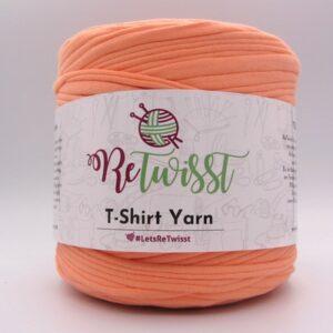Трикотажная пряжа ReTwisst T-Shirt Yarn персик