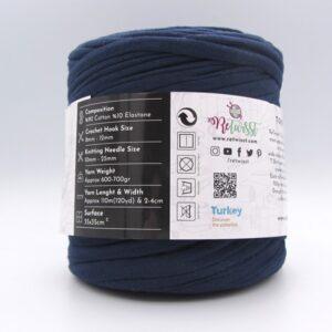 Трикотажная пряжа ReTwisst T-Shirt Yarn темно-синий