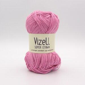 Пряжа Vizell Super Etamin сухая роза