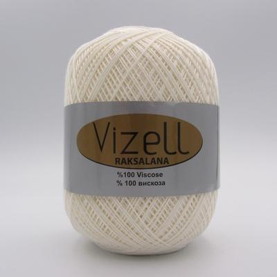 Пряжа Vizell Raksalana 025 молочный