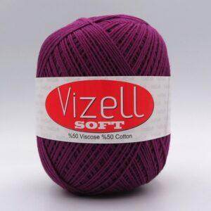 Пряжа Vizell Soft фуксия 738