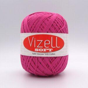 Пряжа Vizell Soft 737 малиновый