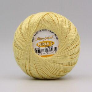 Пряжа Altin Basak Perle 5 0303 светло-желтый