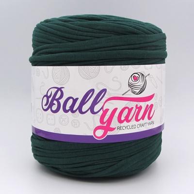 Трикотажная пряжа Ball Yarn темно-зеленый