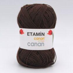 Пряжа Etamin Canan шоколад Е-114