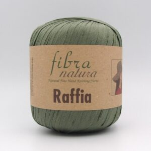 Пряжа Fibranatura Raffia хакки 116-05