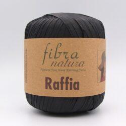 Пряжа Fibranatura Raffia черный 116-12