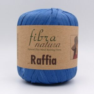 Пряжа Fibranatura Raffia синий 116-13