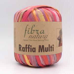 Пряжа Fibranatura Raffia Multi 117-01