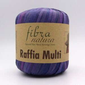 Пряжа Fibranatura Raffia Multi 117-06 сиреневый