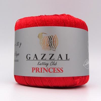 Пряжа Gazzal PRINCESS 3006 красный