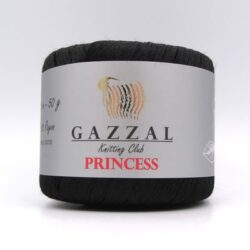 Пряжа Gazzal PRINCESS 3014 черный