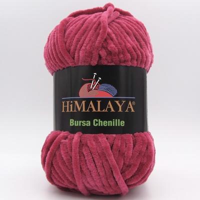 Пряжа плюшевая Himalaya Bursa Chenille малиновый
