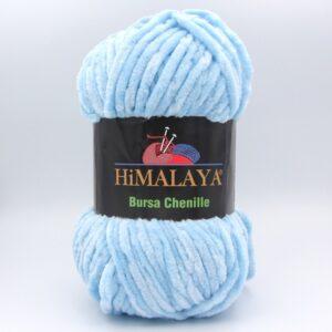 Пряжа плюшевая Himalaya Bursa Chenille нежно-голубой