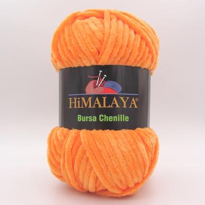 Пряжа плюшевая Himalaya Bursa Chenille оранжевый