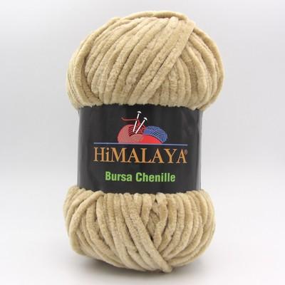 Пряжа плюшевая Himalaya Bursa Chenille бежевый
