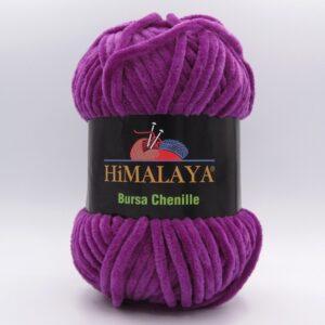 Пряжа плюшевая Himalaya Bursa Chenille яркая сирень