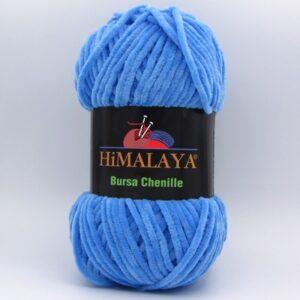 Пряжа плюшевая Himalaya Bursa Chenille голубой