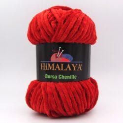 Пряжа плюшевая Himalaya Bursa Chenille красный
