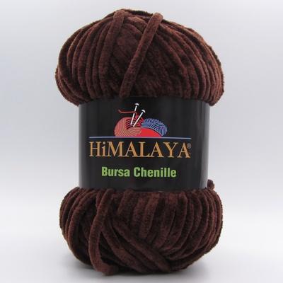 Пряжа плюшевая Himalaya Bursa Chenille шоколад