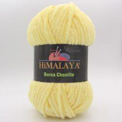 Пряжа плюшевая Himalaya Bursa Chenille желтый