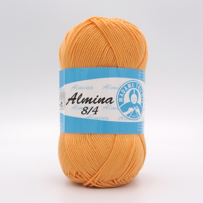 Пряжа Madame Tricote Almina 5048 оранжевый